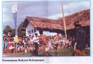Permainan Sasak Tradisional Belanjakan Di Pulau Lombok
